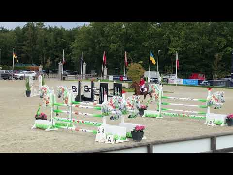 Kamirez van Orchid's & Gilles Nuytens FEI Nations Cup Final Youth round 2