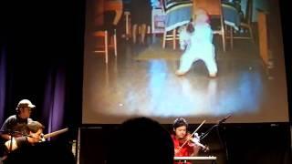 The Books - Classy Penguin (Live in Atlanta, 2010.10.03) + Nick Zammuto's birthday!