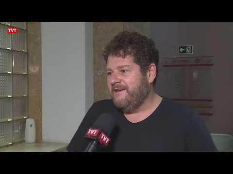 Sergio Antiqueira em matéria do Jornal da TVT