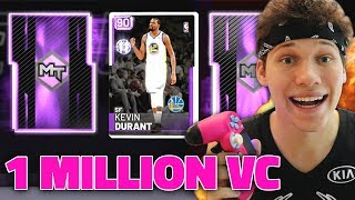 ULTIMATE 1 MILLION VC PACK OPENING LIVE - NBA 2K19