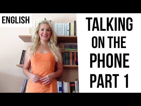 Telephone Conversations Crystal Clear - PART 1