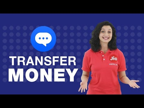 How to transfer money from JioChat?