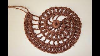 Ракушка для коричневого платья