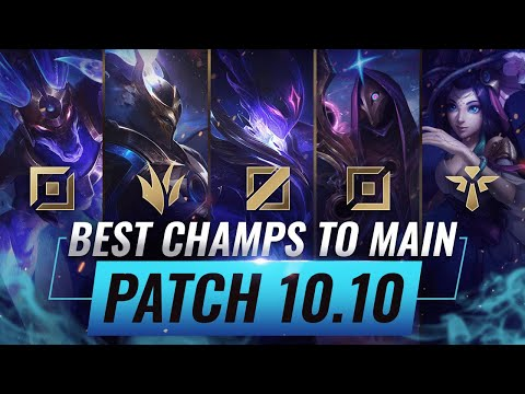 3 BEST Champions To MAIN For EVERY ROLE in Patch 10.10 - League of Legends Season 10