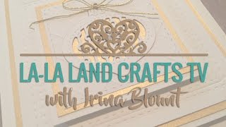 Step-by-step Christmas Card TUTORIAL {La-La Land Crafts TV}