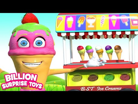 Ice Cream Song | BST Kids Songs & Nursery Rhymes