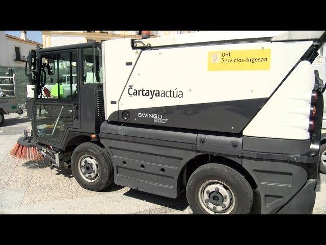 El Ayuntamiento de Cartaya refuerza el servicio de limpieza viaria