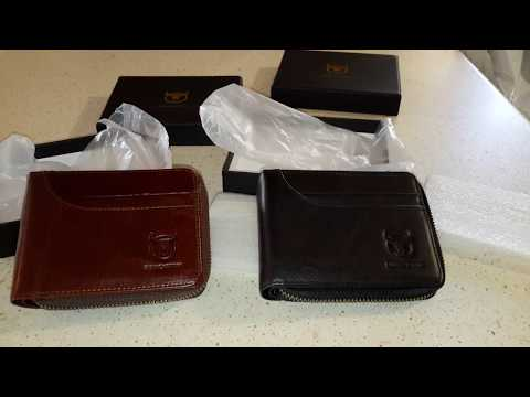 Bullcaptain RFID Blocking Secure Leather Wallet for Men from BANGGOOD