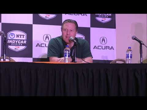 Q&A with McLaren Racing CEO at IndyCar Long Beach GP (Alonso)