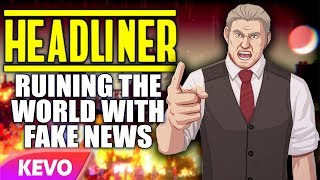 Ruining the world using fake news in Headliner: Novinews