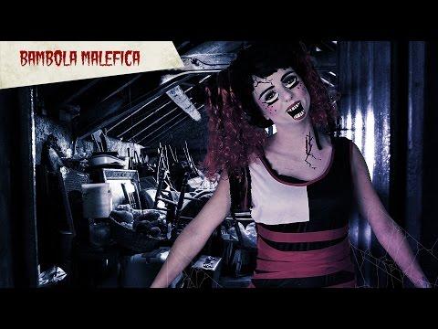 Tutorial trucco di Halloween bambola malefica