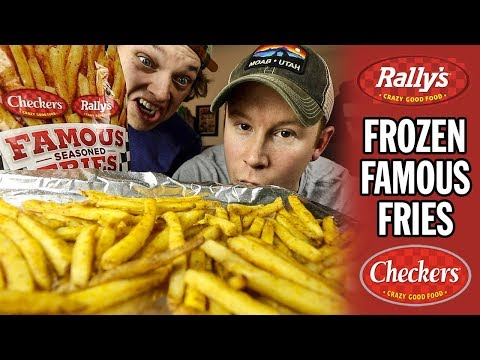 Checkers and Rally's Famous Seasoned French Fries from the FREEZER AISLE | Brew 'N Review
