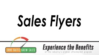 Sales Flyers: Your Full-Color Sales Force!