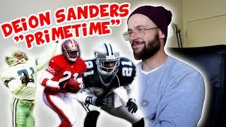 "Rugby Player Reacts to DEION SANDERS ""Prime Time"" NFL Career Highlights Video!"