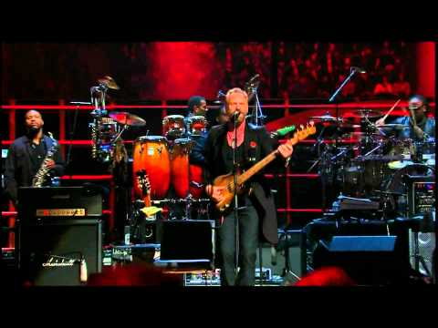Sting & Stevie Wonder - Roxanne (Live) HD