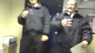 Lorry Driver dance (thanks to Chris Moyles!)
