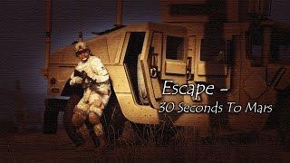 Escape - 30 Seconds to Mars (GTA V Machinima)