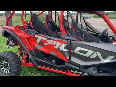 2020 Honda Talon 1000X-4 FOX Live Valve in Belle Plaine, Minnesota - Video 1