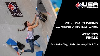 2019 USA Climbing: Combined Invitational | Women's Finals