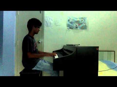 ala barfi piano cover by aan godiawala