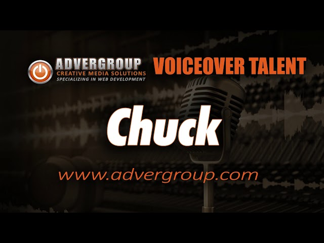 CHUCK Male VOICEOVER ..