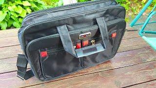 Мужской офисный портфель сумка на плечо / Mens Office Briefcase Shoulder Bag