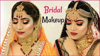 Indian Bridal Makeup Challenge .. | #Beauty #Wedding #Tutorial #Hacks #Anaysa - Download this Video in MP3, M4A, WEBM, MP4, 3GP