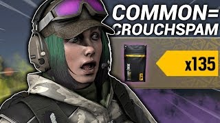 """Alpha Pack Opening, but for every """"common"""" I show a crouchspam."""