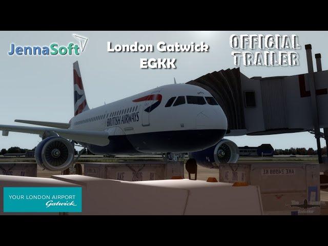 simMarket: JENNASOFT - LONDON GATWICK P3DV4 AND FSX