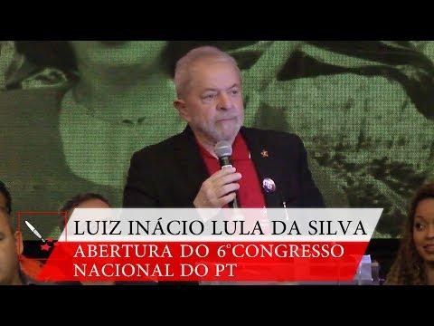 6° Congresso Nacional do PT   Lula