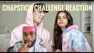 Chapstick Challenge w/ Addison Rae - REACTION