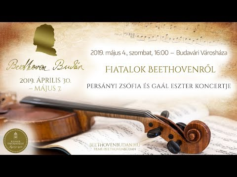 Beethoven Budán 2019 - Fiatalok Beethovenről - video preview image