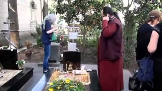 могила Схиархимандрита Виталий,Тбилиси-სქეარქიმანდრიტი ვიტალის (სიდორენკო) საფლავზე თბილისში