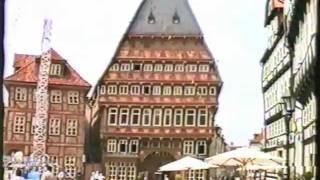 preview picture of video 'Hildesheim Markt 1992, Knochenhaueramtshaus mein schönster Tag'