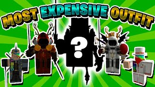 The MOST EXPENSIVE ROBLOX Outfit! (WORLD RECORD) - Linkmon99 ROBLOX