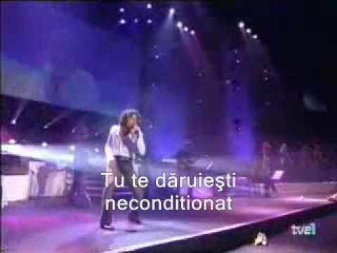 David Bisbal - Un amor que viene y va (subtitrare romana)