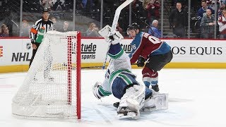 Canucks, Avalanche tangle in six rounds of a shootout