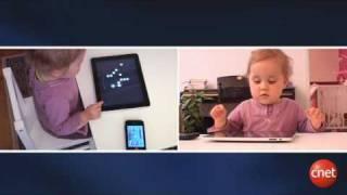 IPad : le test d'un bébé de 20 mois