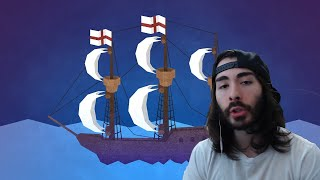 MoistCr1tikal Reacts to The Lost Colony of Roanoke by LEMMiNO with Twitch Chat