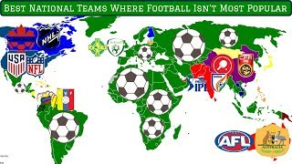 7 Best National Teams Where Football Isn't the Most Popular Sport