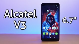 "Alcatel 3V 2019 Smartphone Review - 6.7"" Screen, 4000mAh Battery"