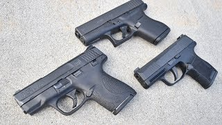 P365 Vs M&P Shield Vs Glock 43...Clash Of Concealed Carry