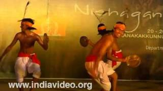 An Adivasi dance from Dhule district, Maharashtra