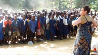 Children Singing in Malawi
