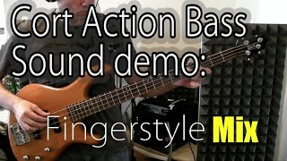 cort action bass sound demo: air (all I need)