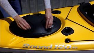 Elie Sound 120XE Angler kayak