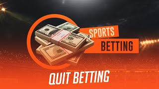 Quit betting Vikram Singh Gandhi