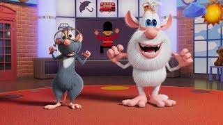 Буба - Урок английского - Head, Shoulders, Knees and Toes - Мультфильм для детей
