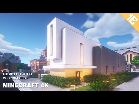 Minecraft Small Modern House Tutorial How To Build In Minecraft