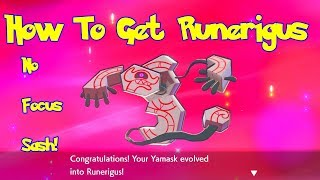 Runerigus  - (Pokémon) - HOW TO EVOLVE GALARIAN YAMASK! Pokemon SWORD & SHIELD RUNERIGUS GUIDE, BEST METHOD!!!!